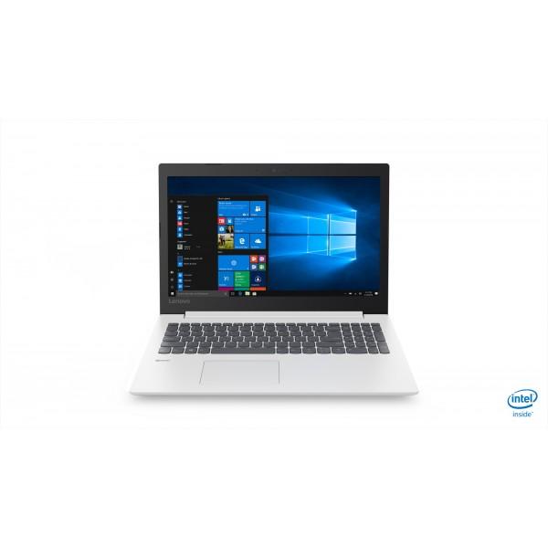 """Lenovo Ideapad 330 - 15.6"""" HD, Intel Celeron N4000, 4GB, 500GB HDD, Microsoft Windows 10 Home - Fehér Laptop Laptop"""