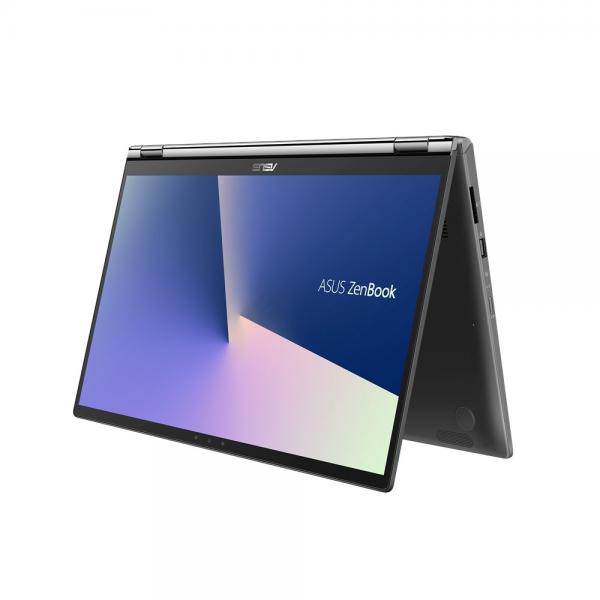 "Asus ZenBook Flip 13 (UX362FA) - 13.3"" FullHD TOUCH, Core i5-8265U, 8GB, 256GB, Microsoft Windows 10 Home - Sötét szürke Laptop Hibrid"