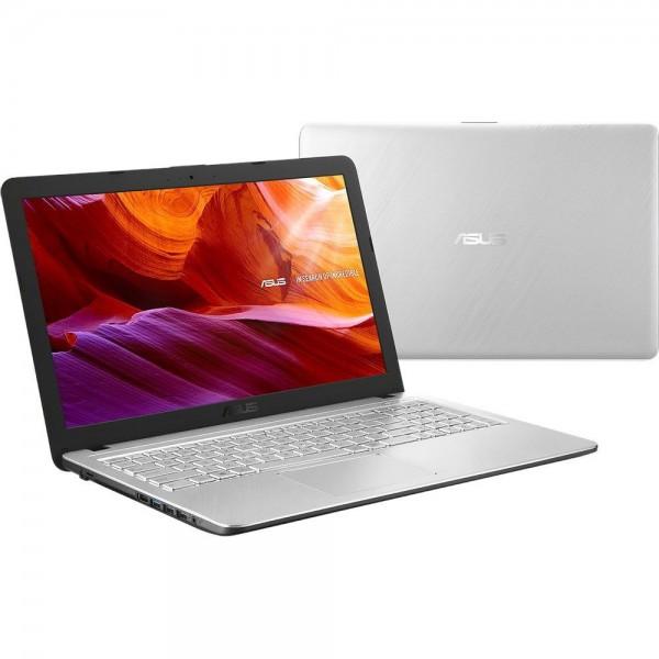 "Asus VivoBook X543 - 15.6"" FullHD, Core i7-8550U, 8GB, 256GB SSD, nVidia GeForce MX110 2GB, Linux - Ezüst Laptop Laptop"