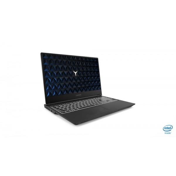 "Lenovo Legion Y540 - 15.6"" FullHD IPS 144Hz, Core i7-9750H, 16GB, 128GB SSD + 1TB HDD, nVidia GeForce RTX 2060 6GB, DOS - Fekete Gamer Laptop Laptop"