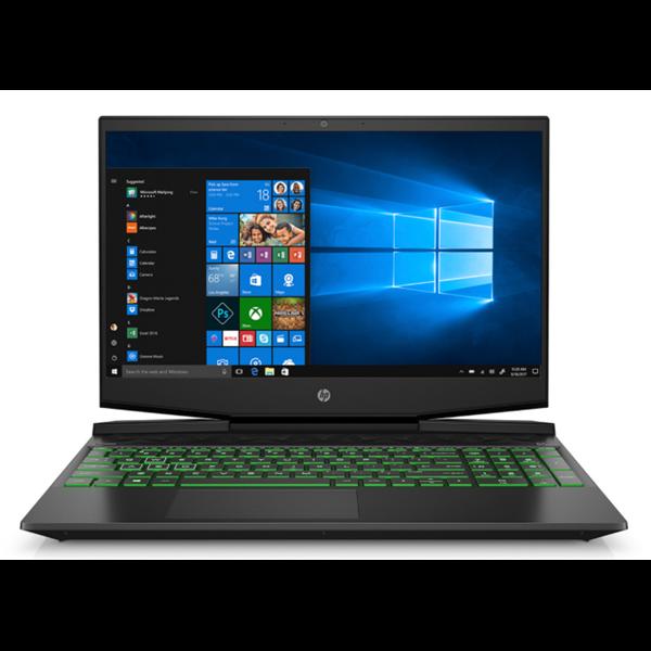 """HP Gaming Pavilion (15-dk0006nh) - 15.6"""" FullHD IPS, Core i7-9750H, 8GB, 256GB SSD + 1TB HDD, nVidia GeForce GTX 1650 4GB, Microsoft Windows 10 Home - Fekete Gamer Laptop 3 év garanciával Laptop"""