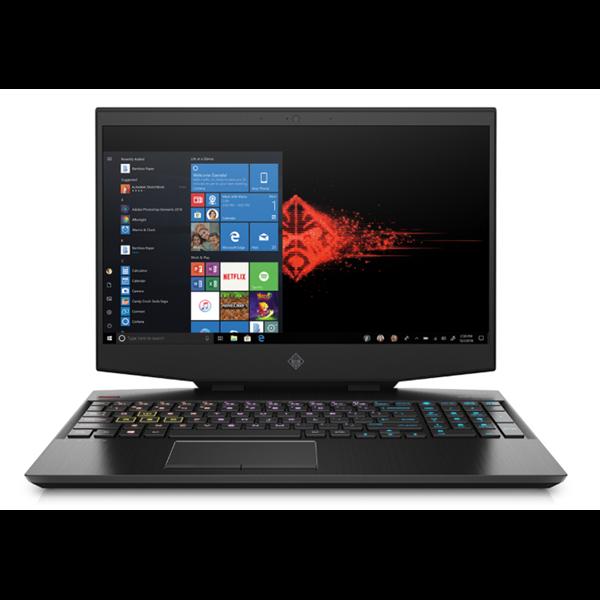 OMEN by HP 15-DH0014NH - 15.6 FullHD IPS 240Hz G-Sync, Core i9-9880H, 16GB, 512GB SSD + 1TB HDD, nVidia GeForce RTX 2080 8GB, Microsoft Windows 10 Home - Fekete Brutális Gamer Laptop 3 év garanciával Laptop