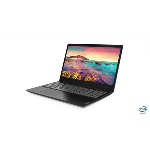 "Lenovo Ideapad S145 - 15.6"" HD, Celeron DualCore 4205U, 4GB,128GB SSD, Microsoft Windows 10 Home - Fekete Laptop Laptop"