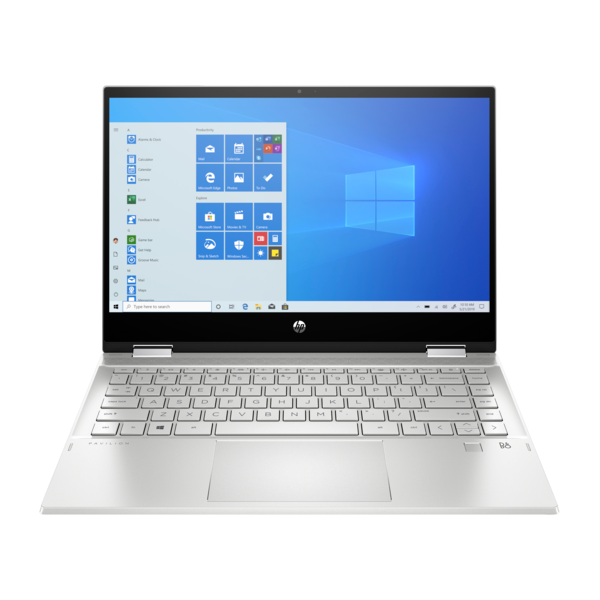 "HP Pavilion x360 2in1 - 14"" FullHD IPS TOUCH, i3-1005G1, 8GB, 256GB SSD, Microsoft Windows 10 Home - Ezüst Átalakítható Laptop 3 év garanciával Hibrid"