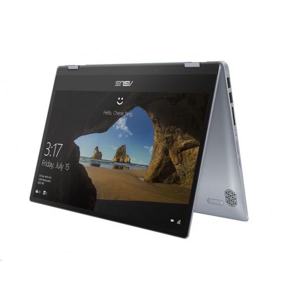 """Asus VivoBook Flip 14 (TP412FA) - 14.0"""" FullHD TOUCH, Core i3-10110U, 4GB, 128GB SSD, Microsoft Windows 10 Home - Szürkéskék Átalakítható Laptop Hibrid"""