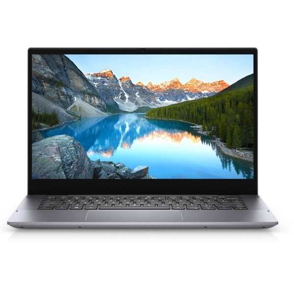 "Dell Inspiron 14 2 in 1 (5400) - 14"" FullHD IPS Touch, Core i7-1065G7, 16GB, 512GB SSD, Microsoft Windows 10 Home - Platinaezüst Laptop 3 év garanciával Hibrid"
