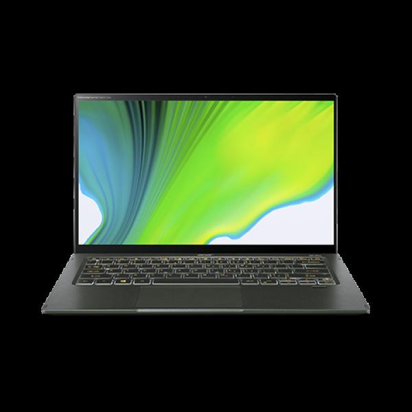 "Acer Swift 5 ( SF514-55T-504W) - 14"" FullHD IPS Touch, Core i5-1135G7, 8GB, 512GB SSD, Microsoft Windows 10 Home- Fátyolzöld Ultrabook 3 év garanciával Hibrid"