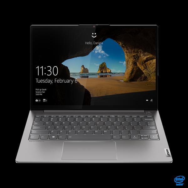 """Lenovo Thinkbook 13s (Gen2) - 13,3"""" WQXGA IPS Touch, Core i5-1135G7, 16GB, 512GB SSD, Microsoft Windows 10 Professional - Ásványszürke Üzleti Laptop 3 év garanciával Hibrid"""