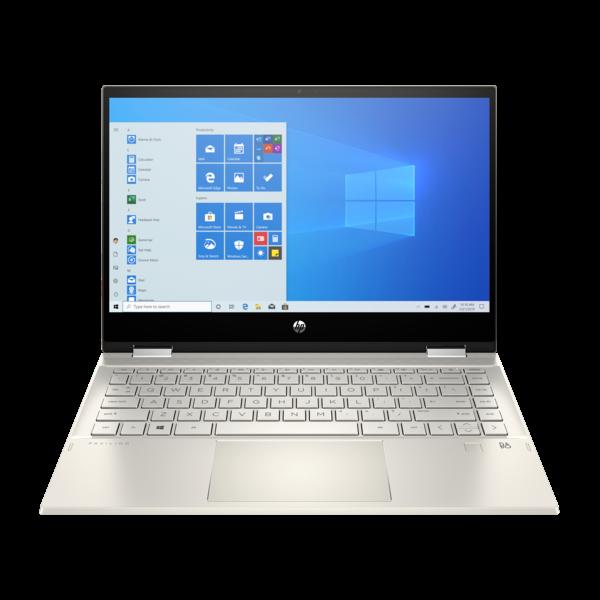 "HP Pavilion x360 2in1 - 14"" FullHD IPS Touch, Core i3-1005G1, 8GB, 512GB SSD, Microsoft Windows 10 Home- Arany Átalakítható Laptop 3 év garanciával Hibrid"