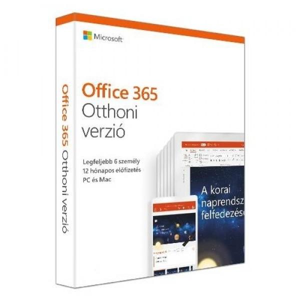Microsoft Office 365 Otthoni verzió 1Y PKC MSR Szoftver