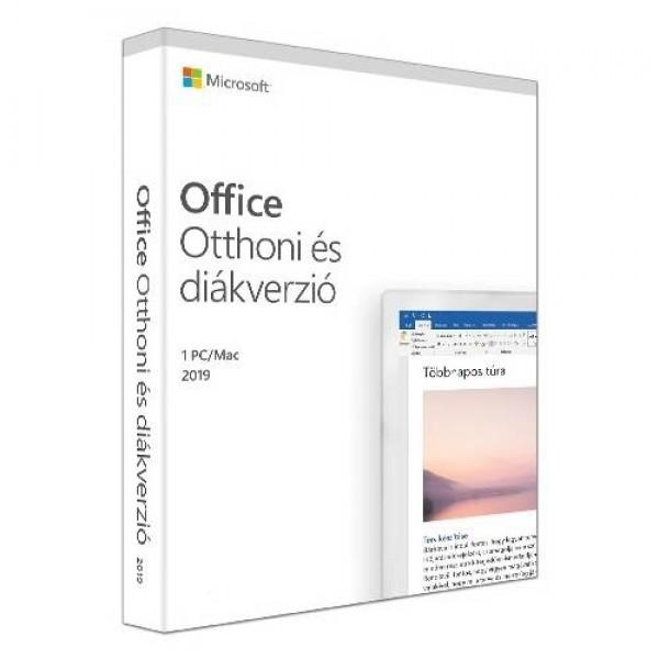 Microsoft Office 2019 Otthoni és diákverzió MSR Kiegészítők