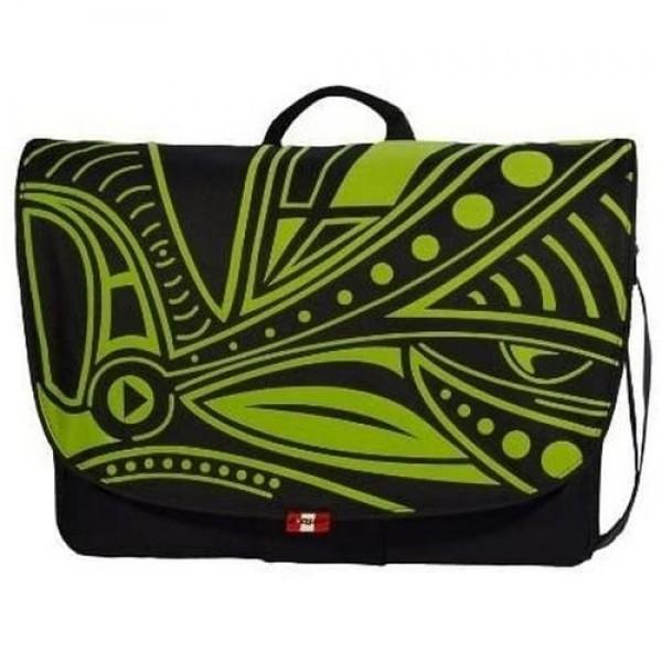 """A-QUIP Jungle Messenger Bag 17,3"""" Black (A/CCT-3JG) Laptop táska"""