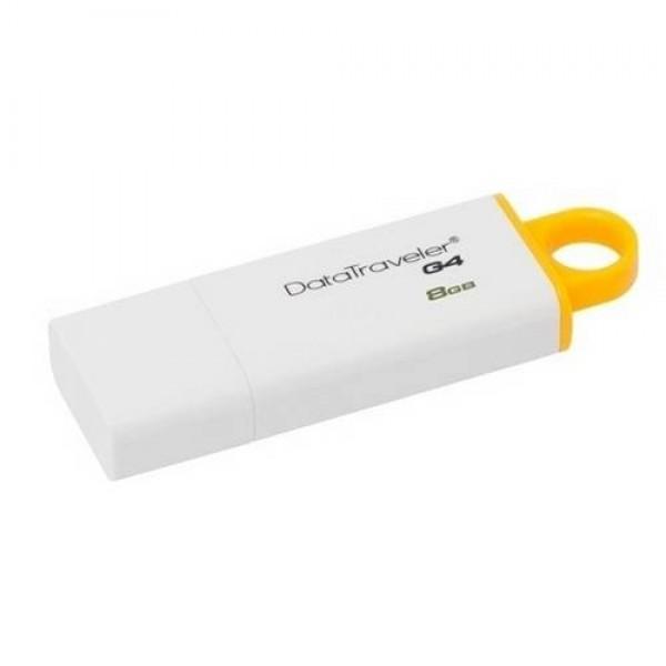 USB Pendrive 8 GB 3.0 White/Yellow (DTIG48GB) Kiegészítők