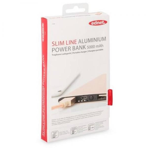 EDNET Power Bank 5000 mAh Gold (31896) Kiegészítők