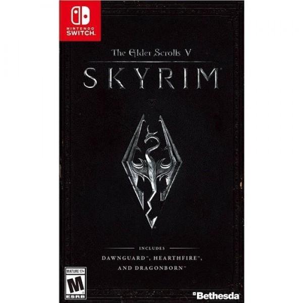 Game Nintendo The Elder Scrolls V: Skyrim Konzol