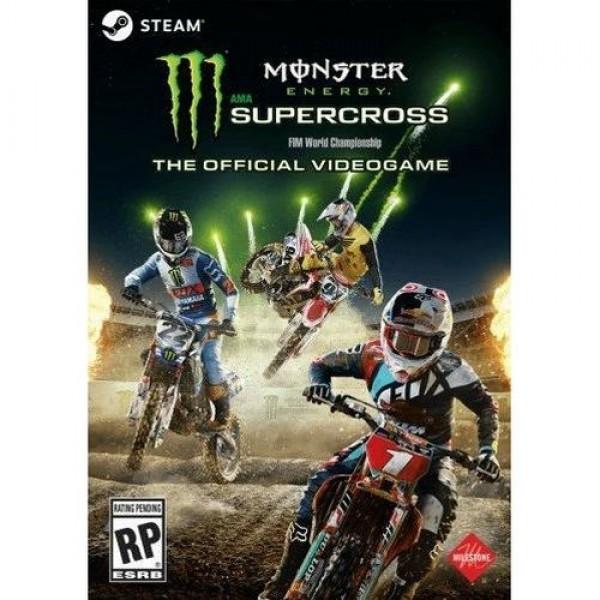 Game Nintendo AMA Supercross FIM World Ch Konzol