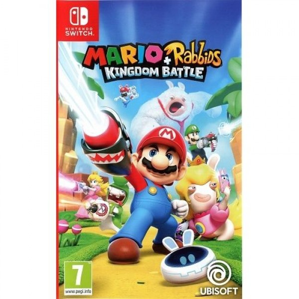 Game Nintendo Mario+ Rabbids Kingdom Battle Konzol