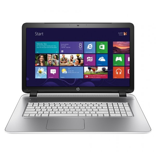 HP Pavilion 17-F202NH L5Z00EA White Win8 Laptop