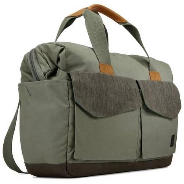 Case Logic táska LODB-115PTG zöld Laptop táska