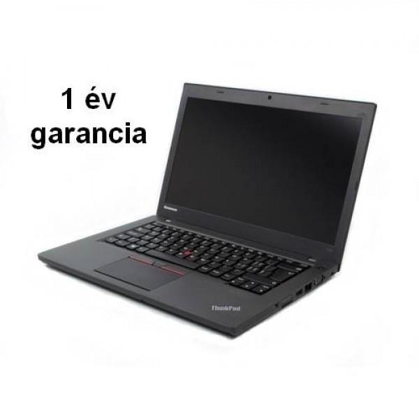Felújított(használt) ThinkPad T450-A++ W8.1 Pro/ W10 Pro Upg 1ÉV Laptop