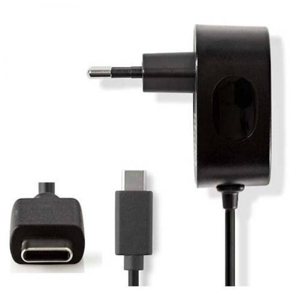 Nedis Wall Charger USB Type-C (WCHAC300ABK) Kiegészítők