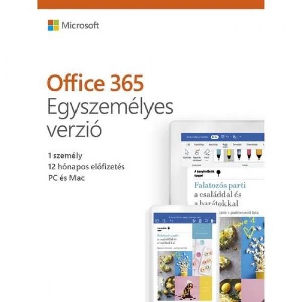 Office 365 Egyszemélyes verzió 1Y ESD Szoftver