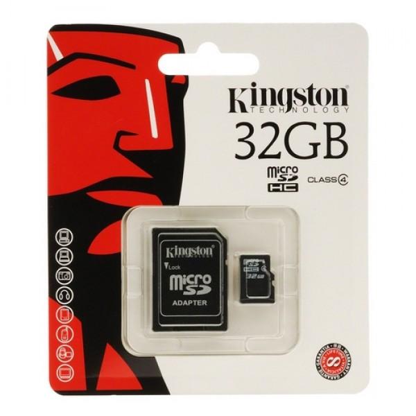 32 GB Micro SDHC Card Kingston Kiegészítők