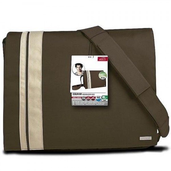 "SpeedLink Messenger Bag 15,6"" Brown (SL-6056-BWBG-01) Laptop táska"