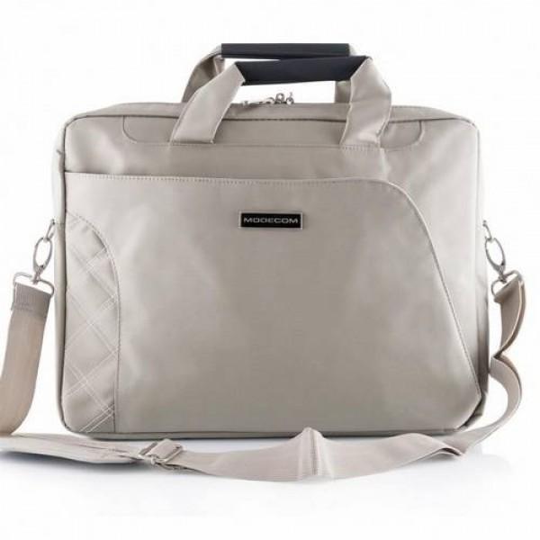 Modecom laptop táska Greenwich Bézs (TOR-MC-GREENWICH-BEIGE) Laptop táska