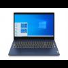 "Lenovo IdeaPad 3 (Gen 6) - 15.6"" FullHD IPS, Celeron-6305, 4GB, 256GB SSD, Microsoft Windows 10 Home S - Örvénykék Laptop Laptop"