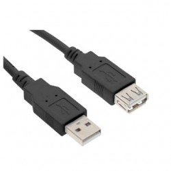 Kábel USB 2.0 A-A 1.8M (CABLE143HS)