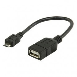 ValueLine USB 2.0 Micro OTG Cable 0.2M (VLMP60515B0.20)
